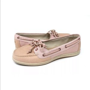 Sperry Top Sider 2 Eye Women's Pink Boat Shoe Sz 9